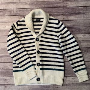 NEXT Striped Cardigan Sweater